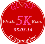 The 2nd Annual Glory in our Hearts 5K Walk/Run to Remember