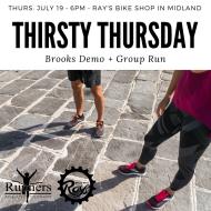 Thirsty Thursday Brooks Demo + Group Run