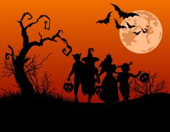 Halloween Hustle 5K Fun Run/Walk/Bicycle and Costume Pageant