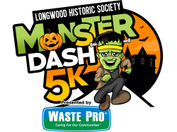 Longwood Monster Dash 5K, Presented by Waste Pro