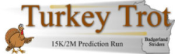 Turkey Trot Prediction Run 2019