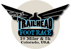 The Great Trailhead Foot Race 10 Miler & 5k (And YOUTH Race!) Logo