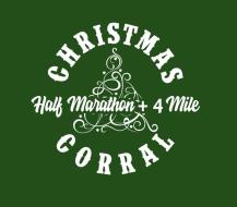 Christmas Corral Half Marathon + 4-mile