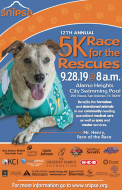 12th Annual Race for the Rescues 5K Run/Walk with your Dog
