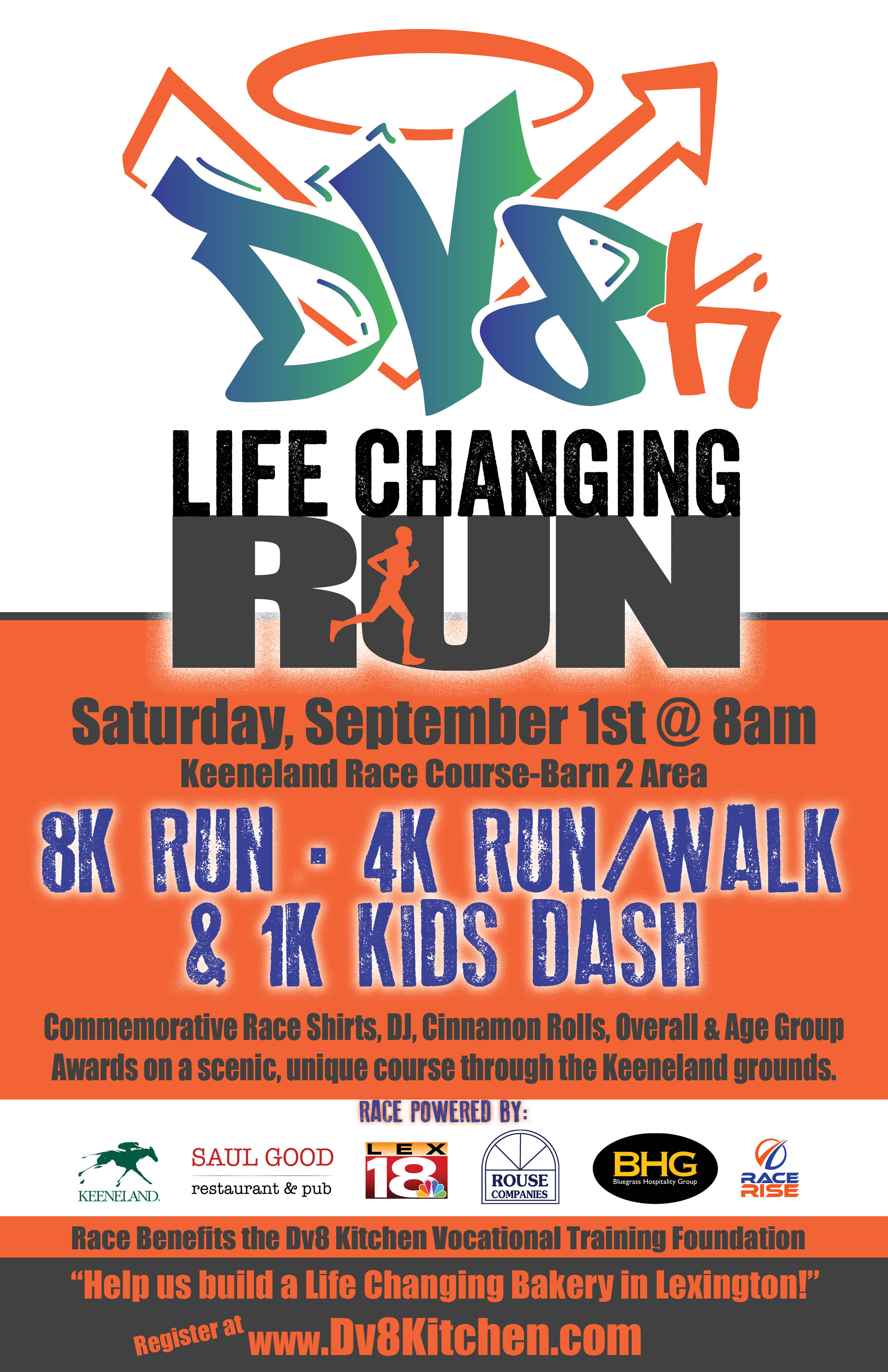 dv8k life changing run