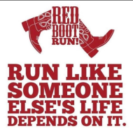 Red Boot Run