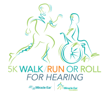 5K Walk Run or Roll for Hearing