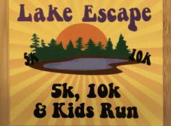 2020 Lake Escape 10k 5k Run Walk and Kids run