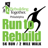 Rebuilding Together Philadelphia's 11th Annual Run to Rebuild VIRTUAL 5K Run/2 Mile Walk