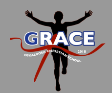 Oskaloosa Christian School Grace Race 2018 5k/1mile  Run/Walk
