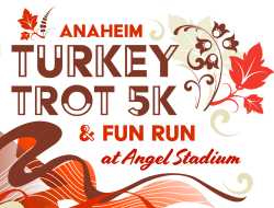Anaheim Turkey Trot 5K & Fun Run at ANGEL STADIUM