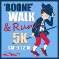 'Boone'Walk & Run! (5K)