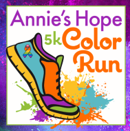 Annie's Hope Color Run - Postponed Tentative July 18, 2020