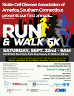 Sickle Cell Disease Association of Southern Connecticut 5K Run & Walk