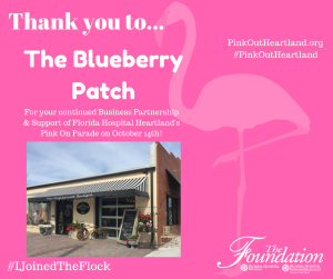 AdventHealth Sebring Foundation Pink on Parade 2019: The Blueberry Patch