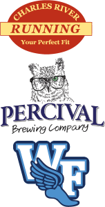 Charles River Running Percival Brewing Company Winged Foot Running