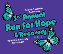 3rd Annual Run for Hope & Recovery