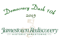 Democracy Dash 10K at Jamestown Island