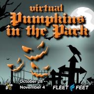 Pumpkins In The Park VIRTUAL 5K & Kids 1 Mile