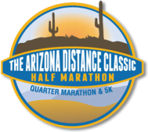 Arizona Distance Classic Half Marathon, Quarter Marathon and 5K