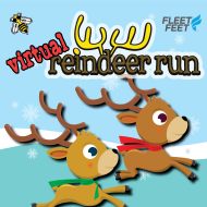 Reindeer Run Virtual 5k & Kids 1 Mile