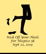 Kick Off Your Heels Hospice 5k Run