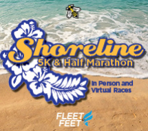 Shoreline Half Marathon & 5K - Live & Virtual Options