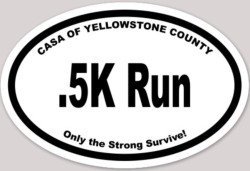 Yellowstone CASA 0.5k Run