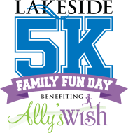 Lakeside 5K and Family Fun Day benefiting Ally's Wish