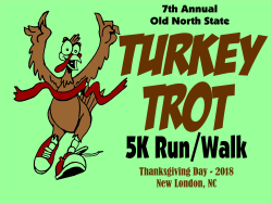 7th Annual Old North State 5K Turkey Trot Run/Walk