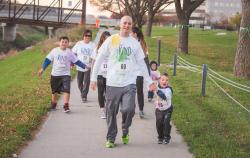BCBSNE Technicolor 5K run & 1m walk benefiting United Way