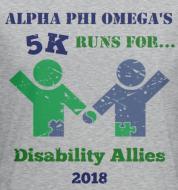 Alpha Phi Omega: Disability Allies 5K 2018