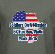 Soldiers On A Mission 5k Fun Run/Walk