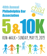 40th Annual Philadelphia Bar Association 5K Run/Walk & 10K Run