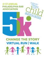 41st Annual Philadelphia Bar Association VIRTUAL 5K Run/Walk