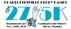 Charlottesville Derby Dames Inaugural $27/5K