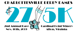Charlottesville Derby Dames $27/5K