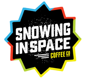 Snowing in Space