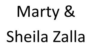Marty & Sheila Zalla