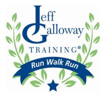 Atlanta Marathon Galloway Training
