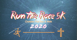 Run The Race 5K -VIRTUAL Christian Fun Run & Walk