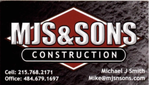 MJS @ Sons Construction