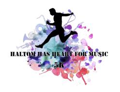 Haltom has Heart for Music 5K