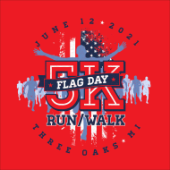 Three Oaks Flag Day 5K