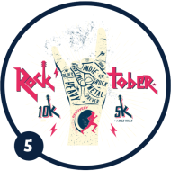 Rock'tober 10k, 5k + 1 Mile Walk — Racing for Recovery