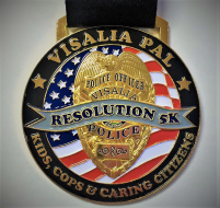 "Visalia PAL ""Virtual"" Resolution Run 5K"