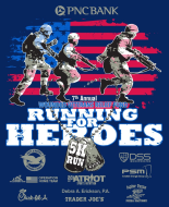 Wounded Veterans Relief Fund Running for Heroes 5K