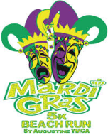 4th Annual Mardi Gras 5K Beach Run/Walk