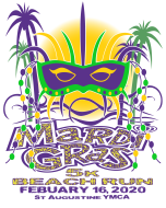 5th Annual Mardi Gras 5K Beach Run/Walk