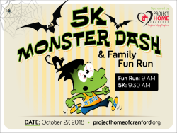 5K Monster Dash & Family Fun Run